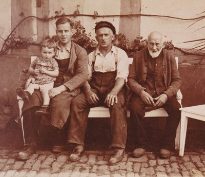Vier Generationen bei Möbel Günther