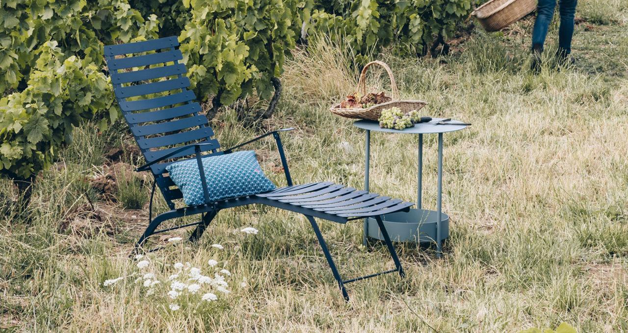 Gartenmöbel Fermob Chaise Longue Bistro